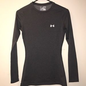 UNDER ARMOUR WOMEN'S COLDGEAR FITTED TOP - XS
